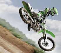 Wallpaper gratis de pirueta de motocross, en HD.