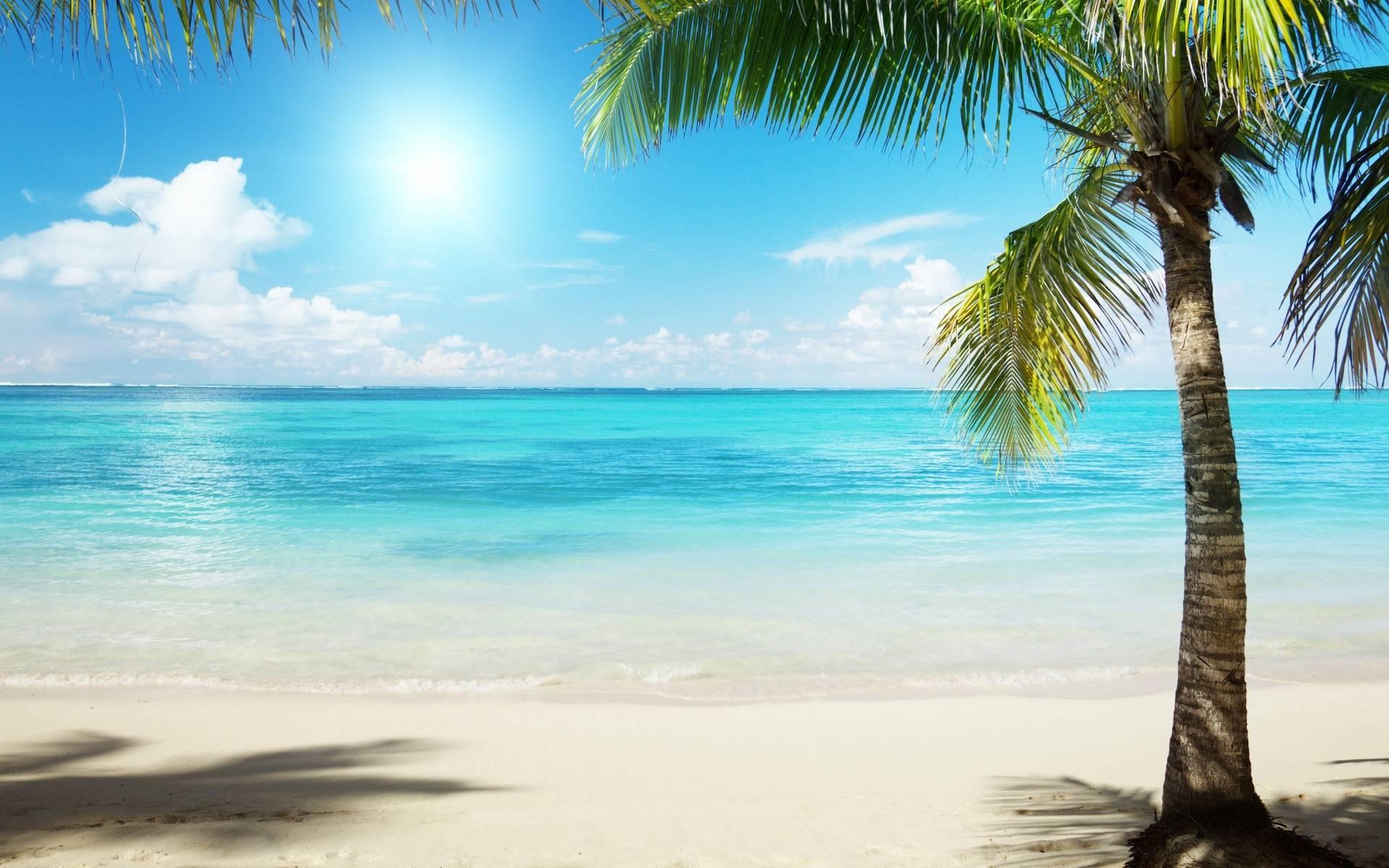 Imagen de una playa en un lugar paradisiaco wallpaper en hd - Playa wallpaper ...