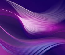 Wallpaper de ondas entrecruzadas, de colores, en HD.